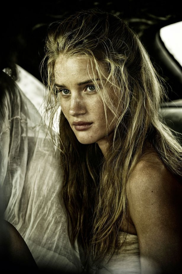 STUNNING British supermodel Rosie Huntington Whiteley is a woman called 'Splendid' in new Hollywood thriller 'Mad Max: Fury Road.'