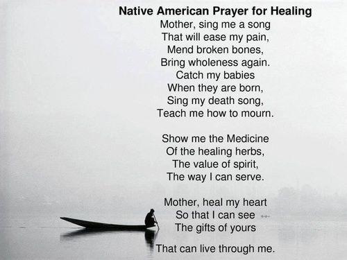 wolfdancer: Native American Prayer for Healing
