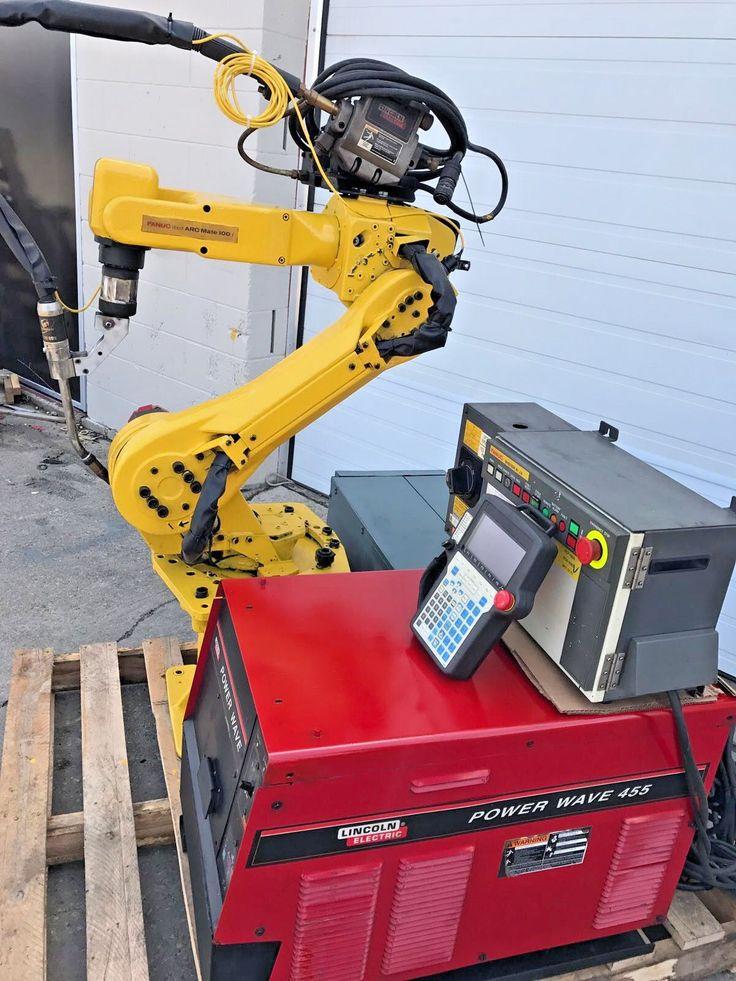 Fanuc Robot Arcmate 100i M6i RJ3 Welding Large Qty Industrial Robot