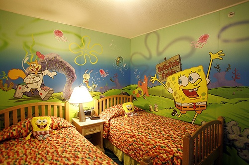 : Kid Bedrooms, Spongebob, Kids Bedroom, Sponge Bob, Kidsroom, Bedroom Design, Bedroom Ideas, Kids Rooms