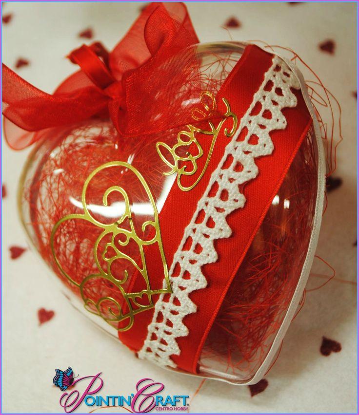 www.pointincraft.eu #pointincraft #pointincrea #sanvalentino #rosso #cuore #amore #love #creazione #progetti ❤❤❤❤