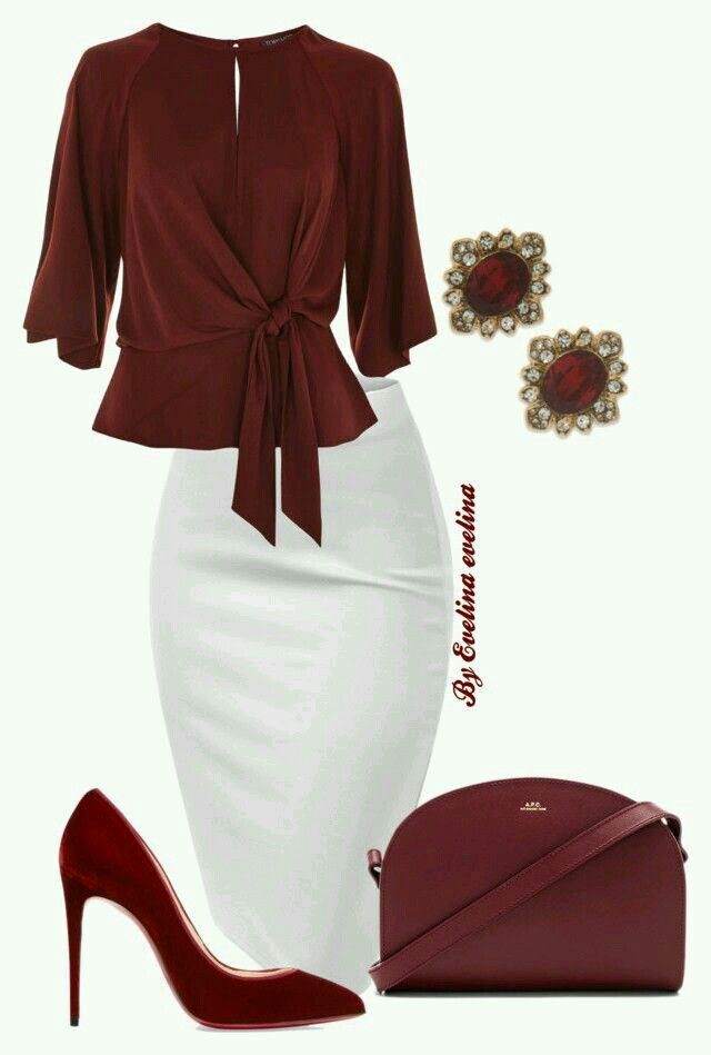 Classic and classy office outfit | Awesome fashion clothes for stylish women from Zefinka.
