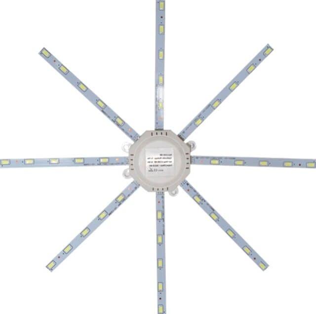 Daca iti iubesti eficienta, vei aprecia MODUL APLICA LED 15W cu lumina alb calda sau alb rece care monteaza in plafoniere sau aplice de diametru mai mare de 30 centimetri. Vei beneficia de o instalare practica si rapida.