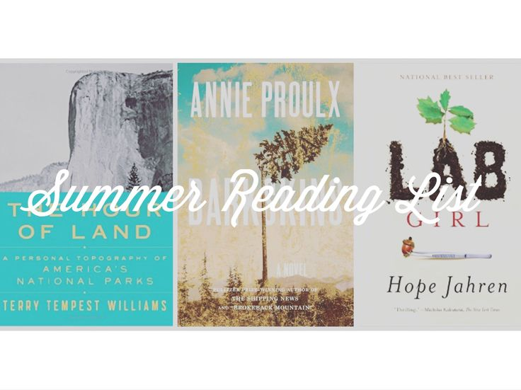 6 Books to Read This Summer 2016 // Alpine Lily