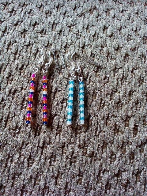 Frozen earrings!