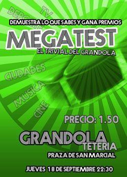 Megatest en Tetería Grândola, Ourense