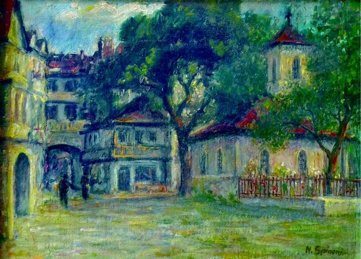 Nicolcea Spineni  – În Curtea Mănăstirii