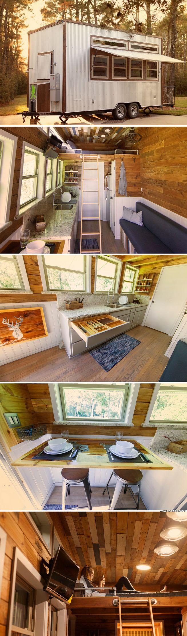 The Barton Ranch tiny home by Sasquatch Custom Homes
