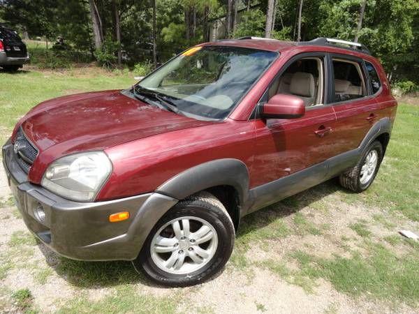 2007 Hyundai Tuscon SUV Garnett color 4 brand new tires RIDES NEW! (exit91 off i-26 CHAPIN SC) $5750