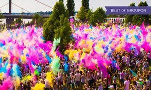Groupon - 2 Tickets für Holi-Festival of Colours mit Farbbeutel in 8 Städten u. a. Berlin, Leipzig, München, Dortmund (50% sparen) in Mehrere Standorte. Groupon Angebotspreis: 22,99€
