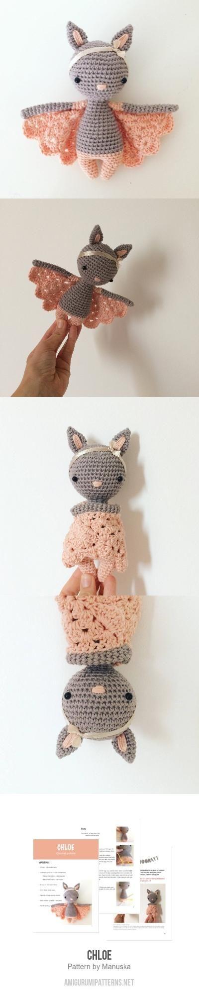 Chloe amigurumi pattern