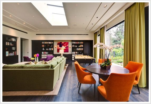 color psychology decorating with orange fall color on sample color schemes for interiors id=38889