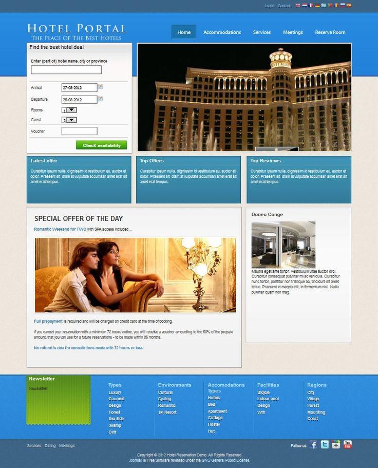J-HotelPortal Template