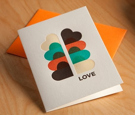 letterpress love #letterpress great example of letterpress colour trapping