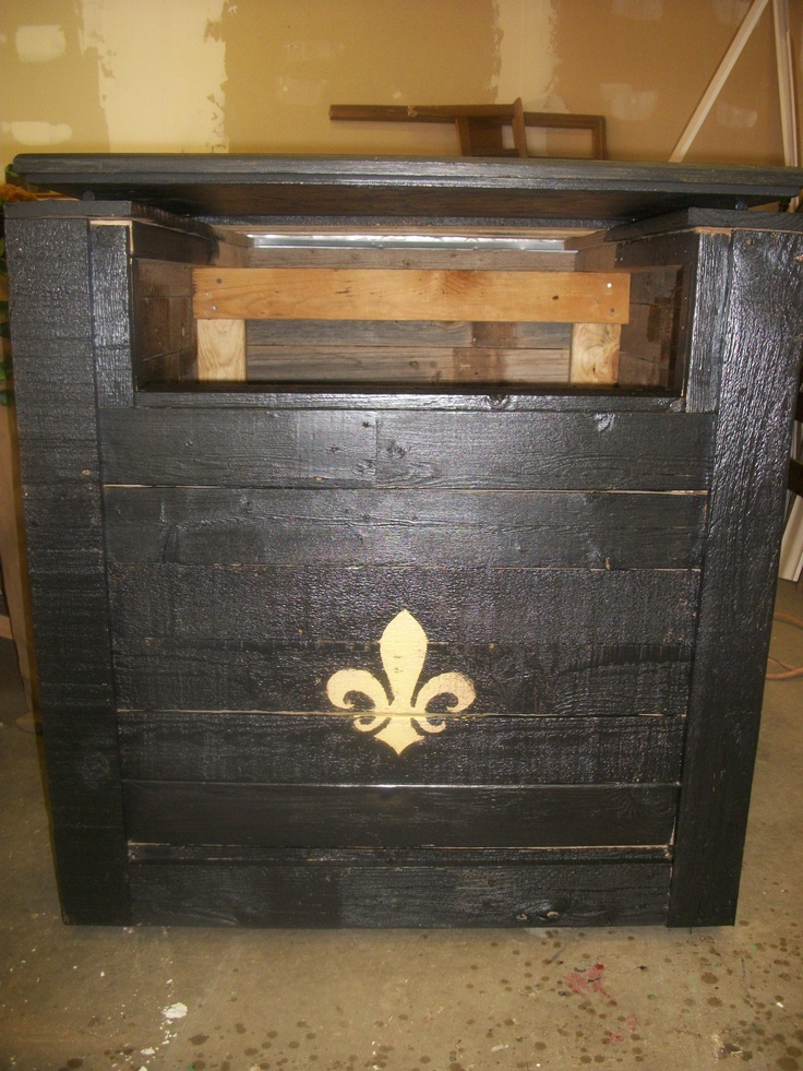 Patio Toy Box Made Of Recycled Pallet Wood And A Cabinet Door Lid My Projects Pinterest
