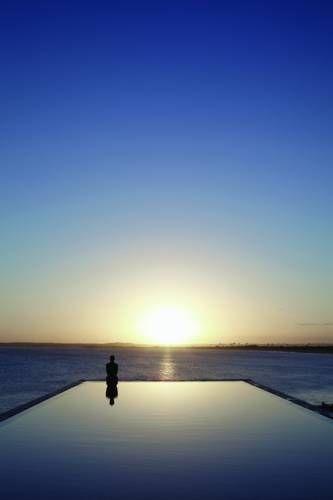 The infinity pool at Playa Vik hotel, Jose Ignacio, Uruguay