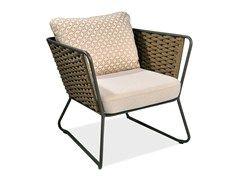 PORTOFINO Garden armchair by Roberti Rattan design Studio Balutto Associati