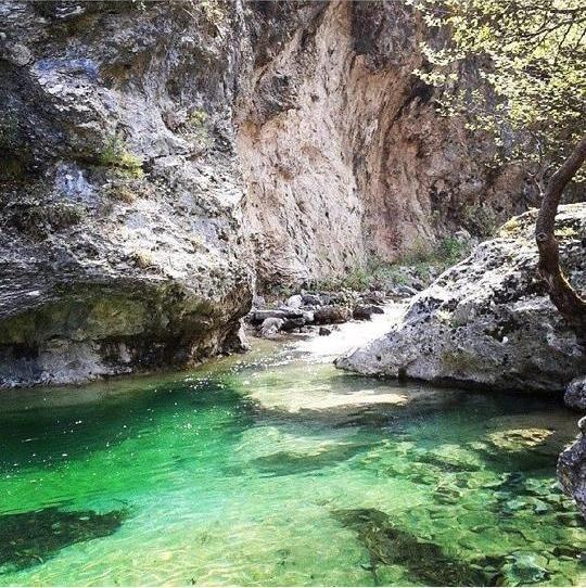 Enipeas Canyon, Pieria, Greece! photo: I. Papazacharias