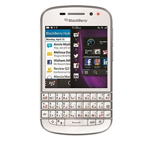 Blackberry Q10 SQN100-3 16GB Factory Unlocked GSM Smartphone w/ English   Arabic Keypad - White *** To view further for this item, visit the image link.
