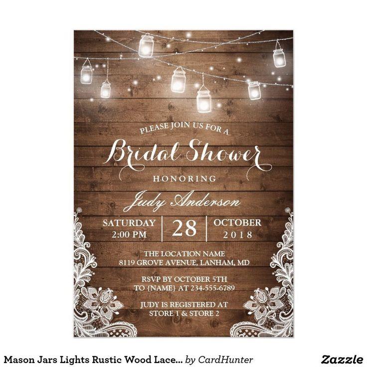 Fabulous Rustic Bridal Shower Decoration Ideas 04