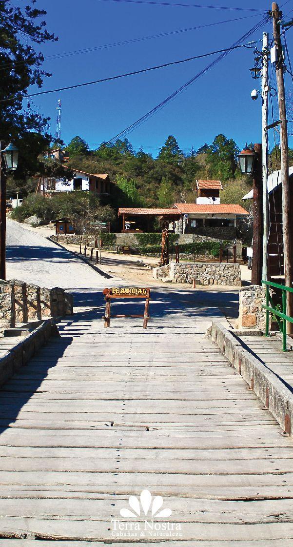Salida del pueblo vista del puente principal! Cabañas Terra Nostra La Cumbrecita en Córdoba #TerraNostra #Travel #Trip #Argentina #Cordoba #LaCumbrecita #Pin #Cabañas #Facebook -->> http://bit.ly/TerraNostra