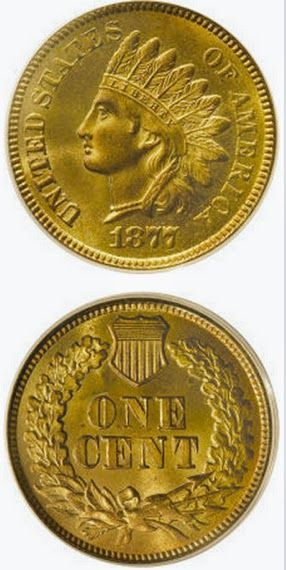 Tony Lawrence's Coins & Stuff: Is the 1877 Indian Head Cent really a rare coin?