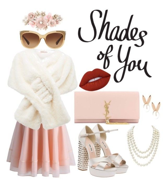 """""""Shades of You: Sunglass Hut Contest Entry"""" by meytaastuti on Polyvore featuring Chicwish, Forever New, Miu Miu, Yves Saint Laurent, Chanel, Aamaya by priyanka, Coach, Lime Crime, Accessorize and shadesofyou"""