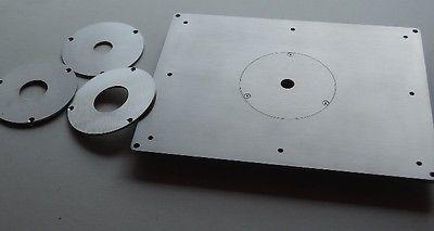 Piastra universale in acciaio inox per fresatrice pantografo