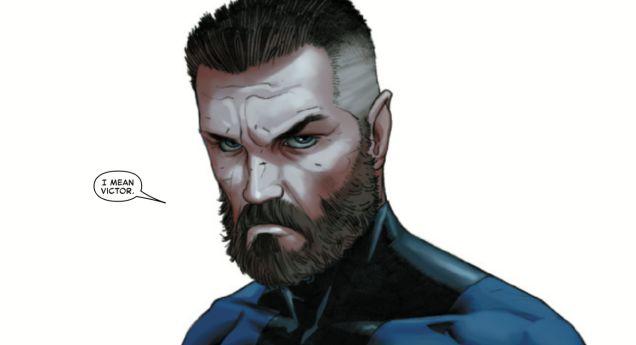 Reed Richards Beard Mister Fantastic Marvel Marvel Comics