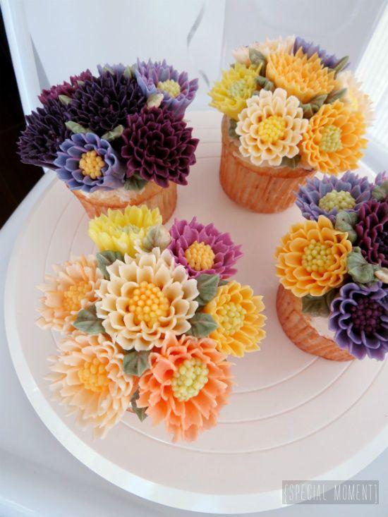 Cupcake Buttercream Decoration