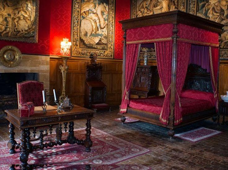 Bedroom Chateau de Brissac  Style French Parisian
