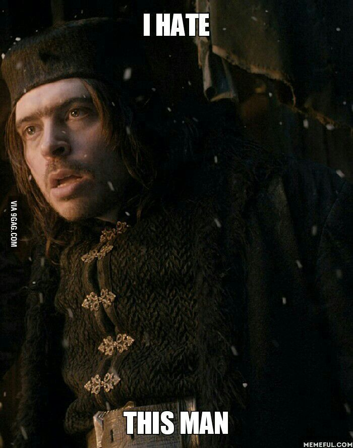 After watching The Hobbit, the Battle of the Five Armies <-- I hated him in Desolation of Smaug