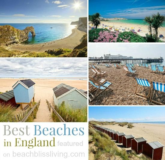 Best Beaches in England for Charm, Beauty & Nature! http://beachblissliving.com/best-beaches-in-england-for-british-charm-and-natural-beauty/