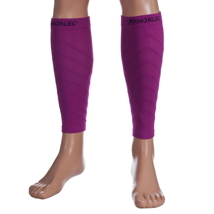 Remedy Pink Calf Compression Running Sleeve Socks | Overstock.com....