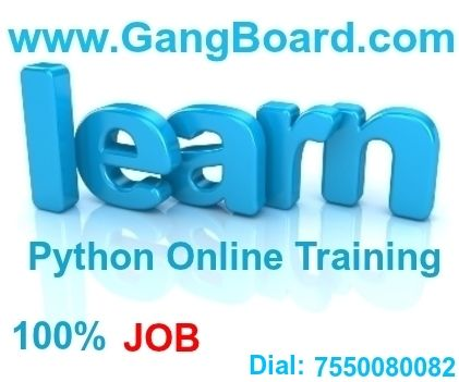 Python Online Training | Python Training with 100% job