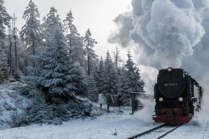Der Brocken – Harzer Winterpracht auf 1.141 Metern
