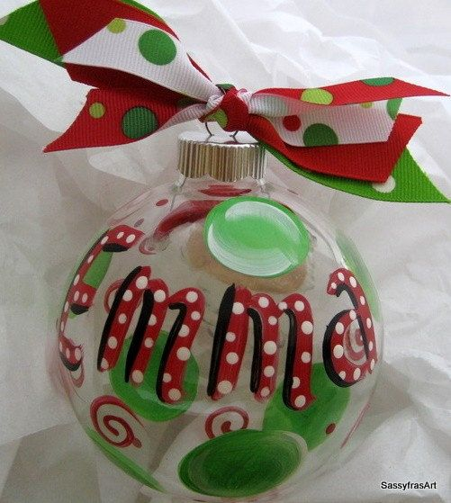 Personalized ornaments - how to