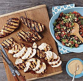 4 ways to grill a juicy chicken breast