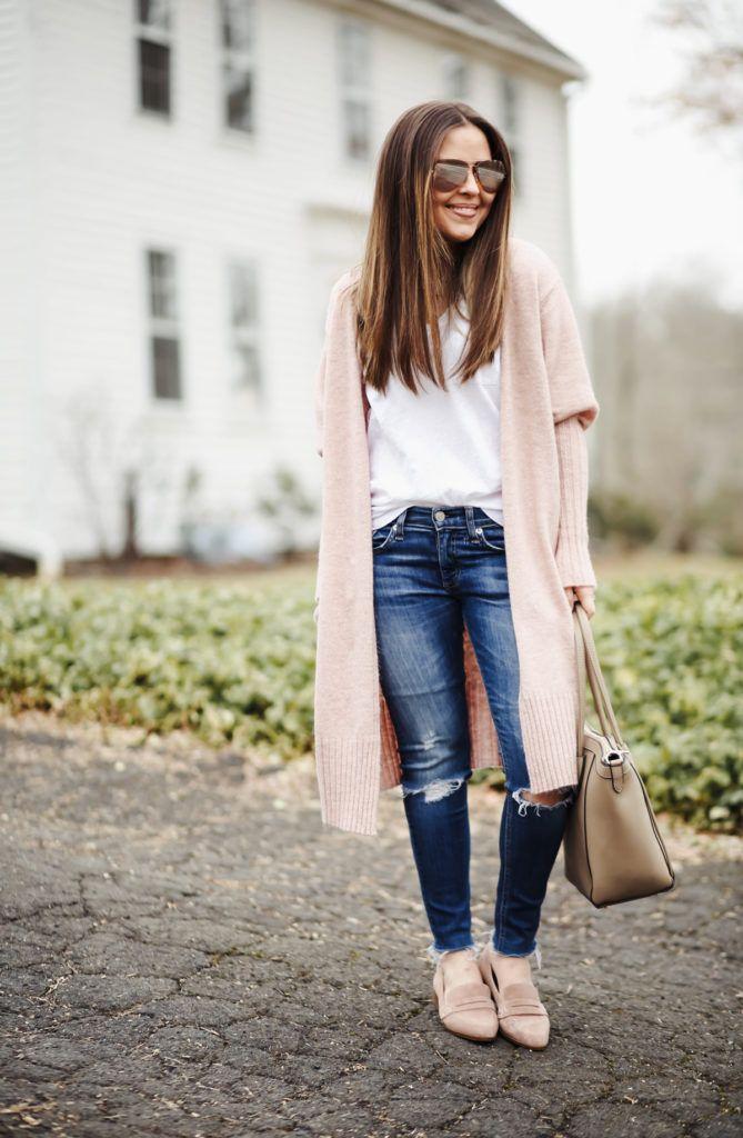 a48133ecbe4 dress cori lynn - a connecticut life and style blog. long pink cardigan. ...