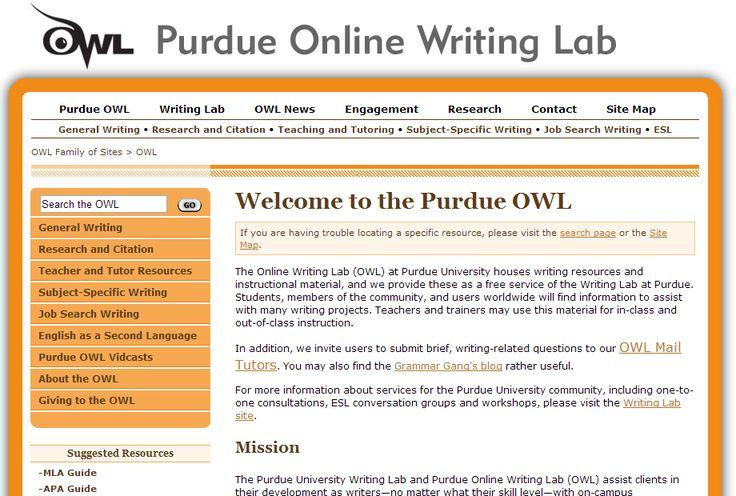 Useful Tips on Purdue Essay Writing