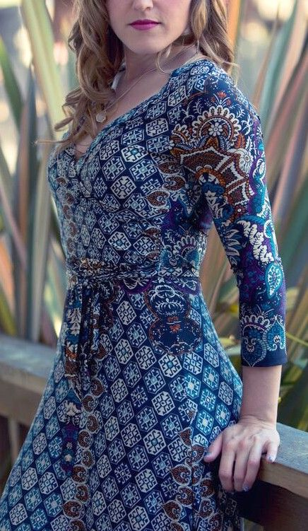 Midnight Blue, Regal and Sepia Madigan Dress. Perfect for everyday.