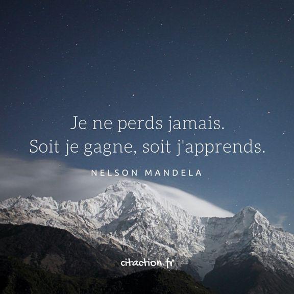 """Les """"erreurs"""" sont des expériences, apprenez de vos expériences."""