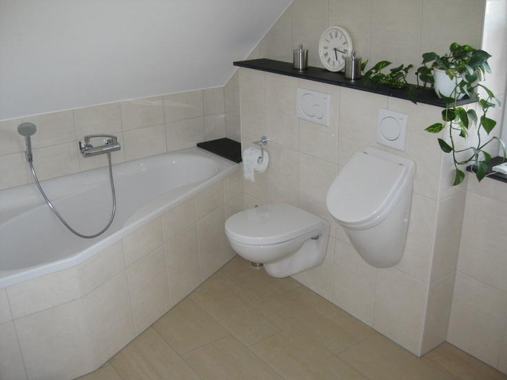 Kleines Bad, Raumsparwanne