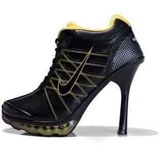 http://www.asneakers4u.com/ Nike Air Max High Heels Yellow