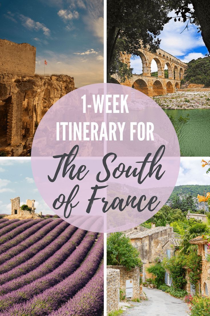 Looking for the perfect 1-week itinerary for the South of France? This 7 day Pro…
