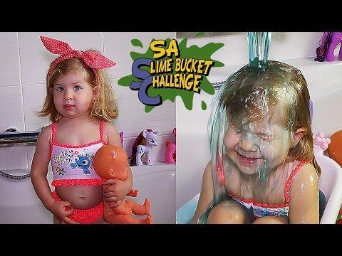 ✿ Челлендж СЛАЙМ БАКЕТ Куклы и Слизь на Голову Вызов Принят Челленджи Dolls Slime Bucket Challenge    {{AutoHashTags}}