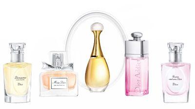 Christian Dior 5pc Les Parfums De L'Avenue Montaigne (W)