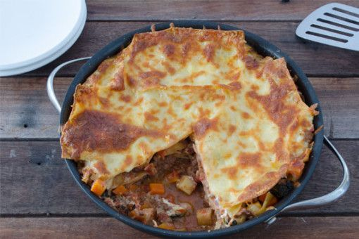 Homebaked Beef & Ricotta Lasagna with Winter Vegetables 1