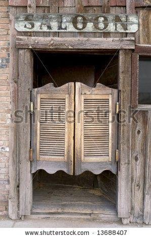 Swinging saloon doors montreal