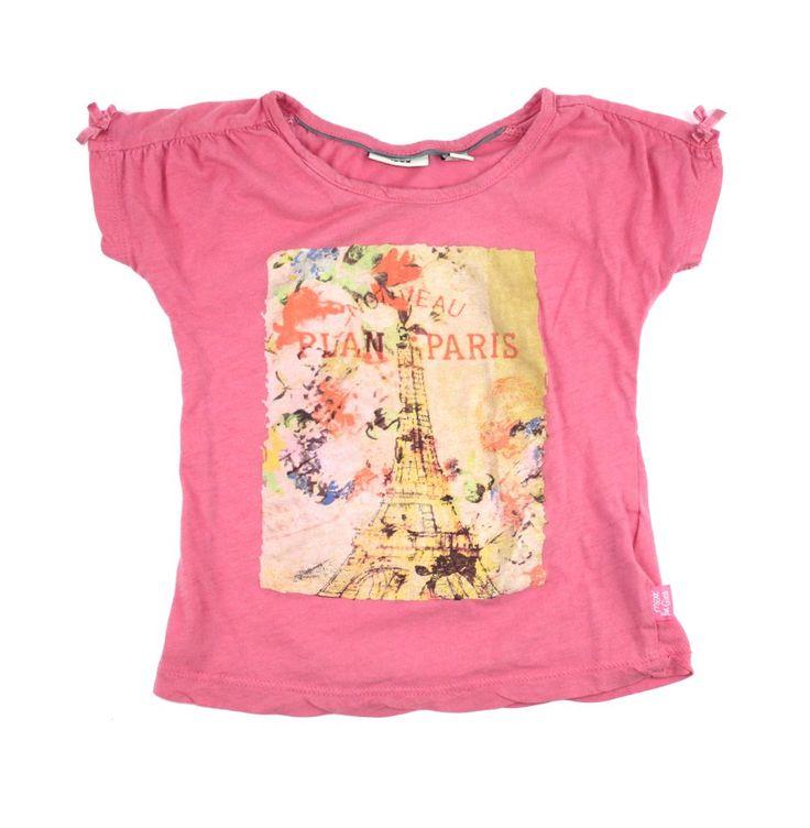 Pink Mexx t-shirt, Paris t-shirt, Mexx for girls